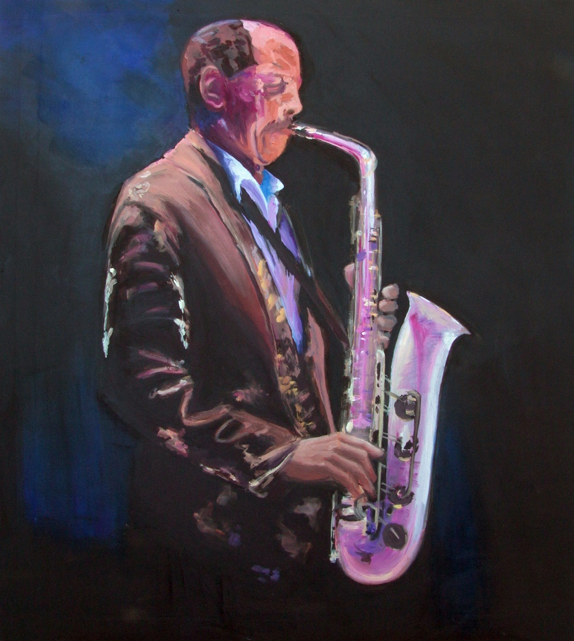 """Playing The Sax"""